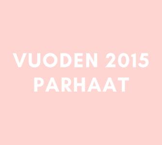 Vuoden 2015 parhaat