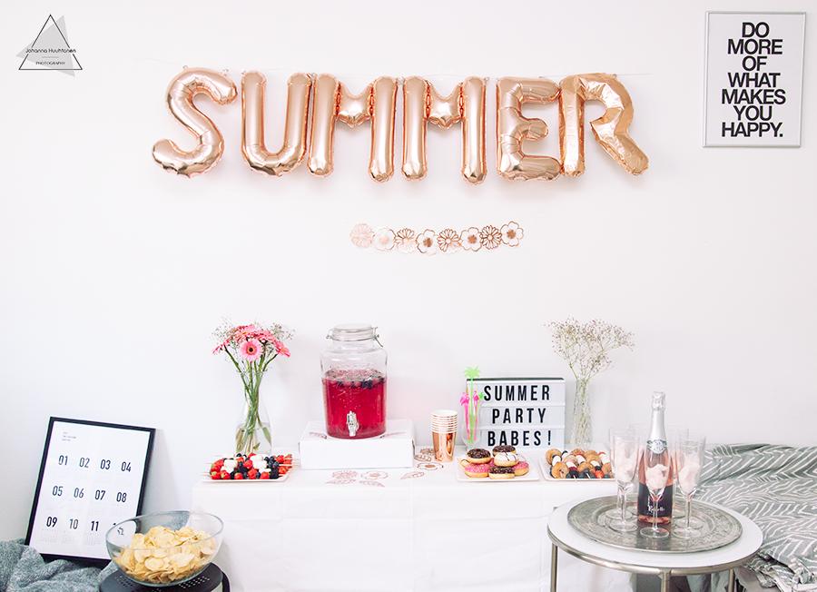 Ruusukultaiset kesäjuhlat