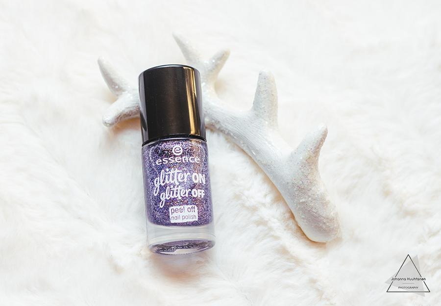 Essence Glitter On Glitter Off Peel Off Nail Polish