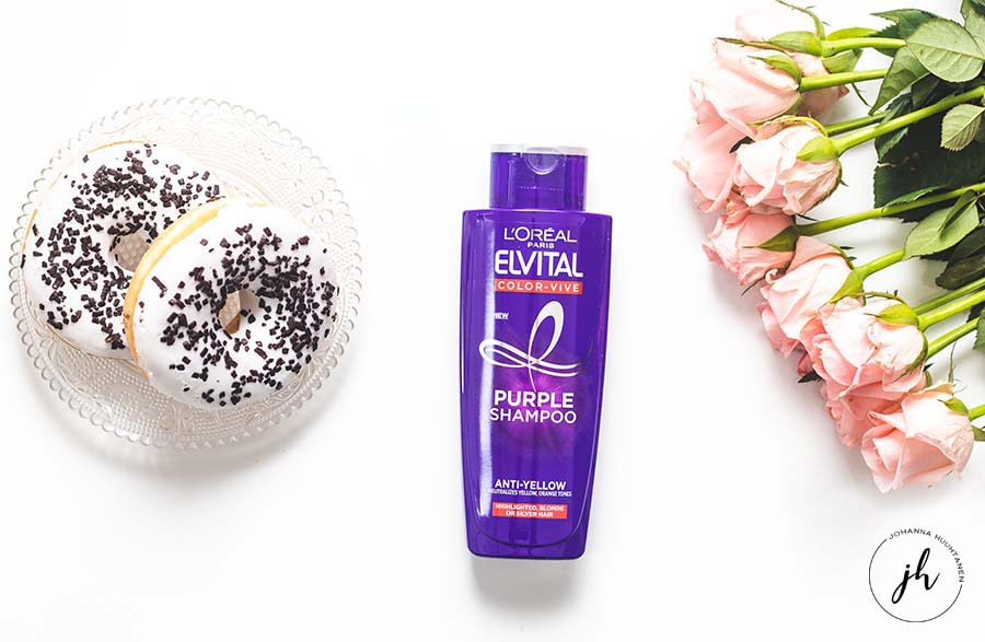 Bette Box huhtikuu L'Oréal Paris Elviltal Color Vive Purple Shampoo