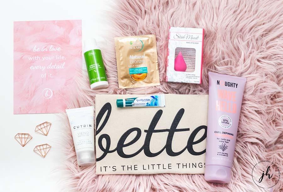 Bette Box maaliskuu 2019 sisalto