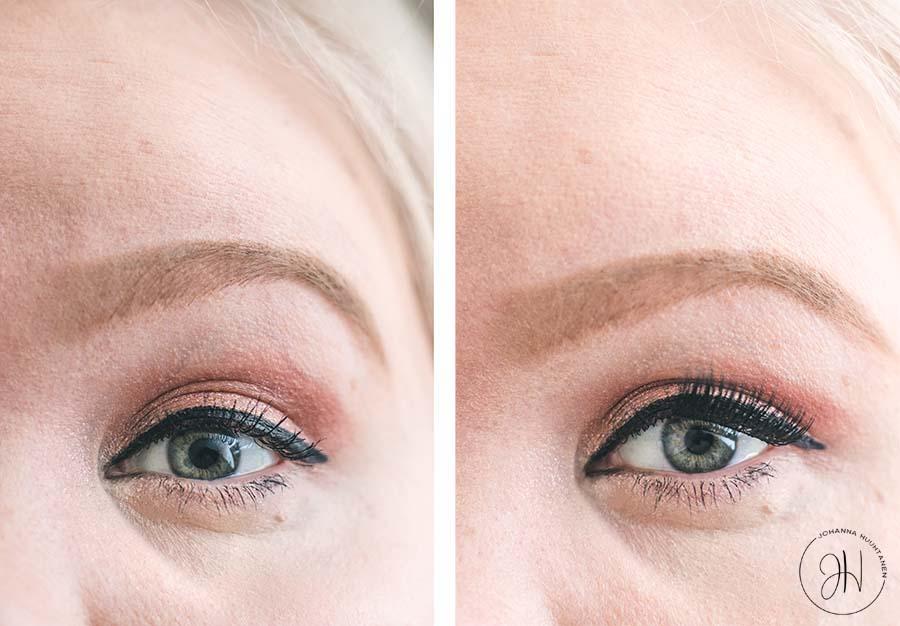 G Beauty Lab magneettiripset silmissa