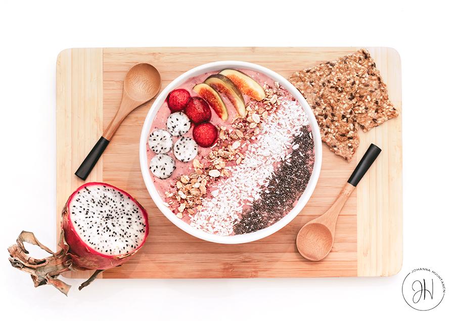 Kohti parempaa hyvinvointia smoothie bowl