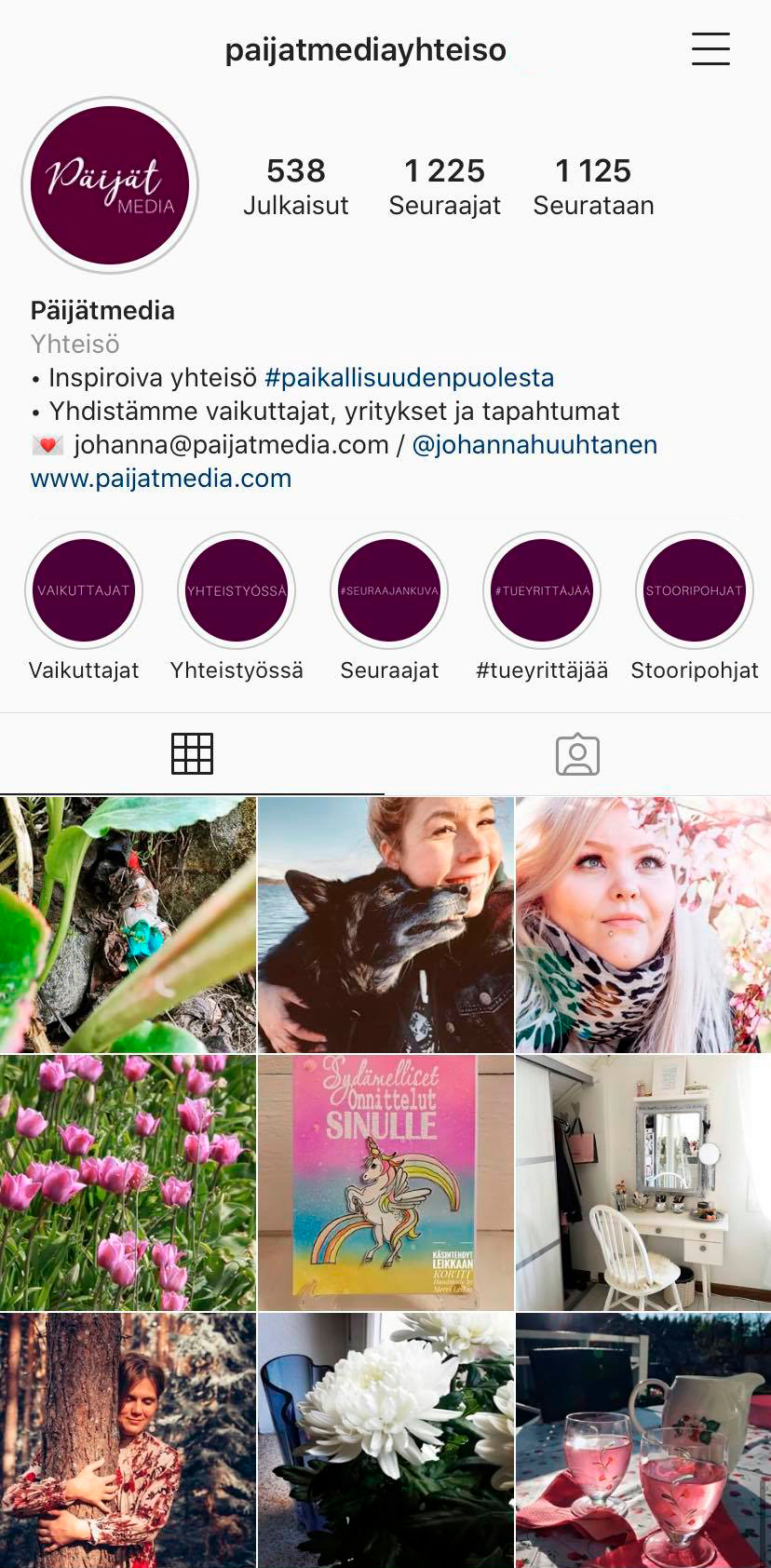 Päijätmedia Instagram